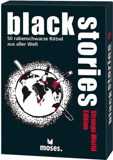 Strange World Edition – 50 rabenschwarze Rätsel aus aller Welt