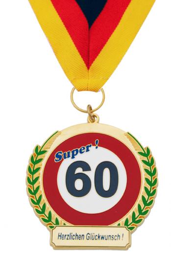 Super! 60 - Herzlichen Glückwunsch!