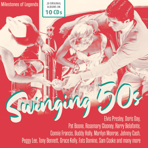 Swinging '50s. Milestones Of Legends. 10 CDs.