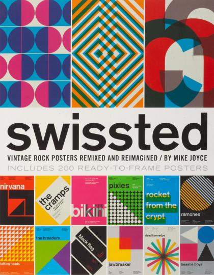 Swissted. Vintage Rock Poster. Remixed und neu erfunden!