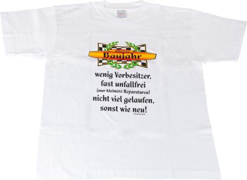 T-Shirt 'Älteres Baujahr' - Größe M