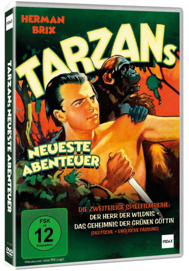 Tarzans neueste Abenteuer. DVD.