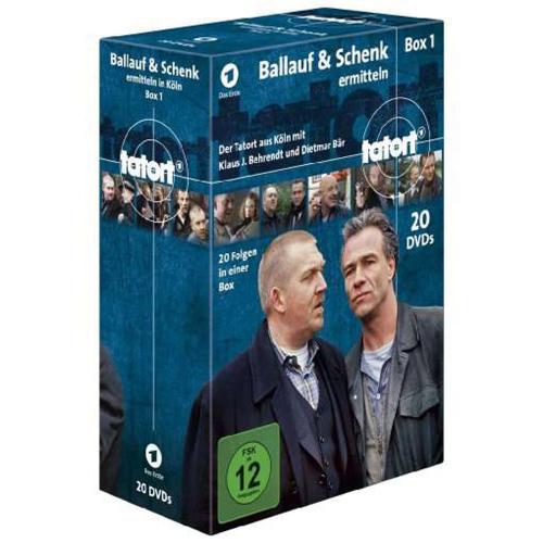 Tatort Köln. Ballauf & Schenk ermitteln Box 1. 20 DVDs.
