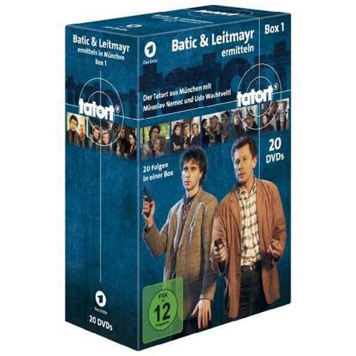 Tatort München. Batic & Leitmayr ermitteln. Box 1 (Fall 1-20). 20 DVDs.