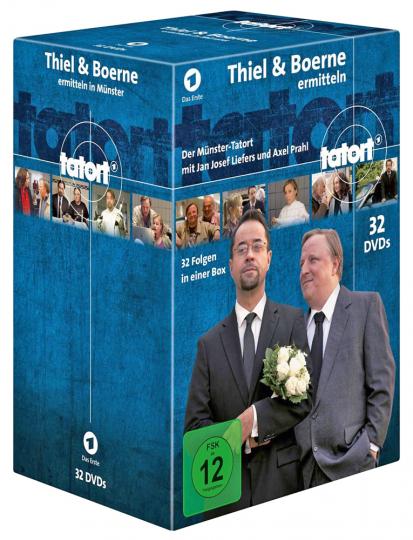 Tatort Münster - Thiel und Boerne ermitteln Fall 1-32. 32 DVDs.