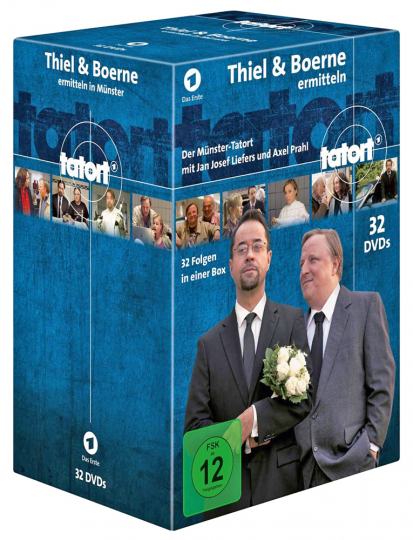 Tatort – Thiel & Boerne (30 DVD)