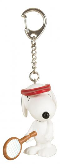 Tennisspieler Snoopy. Schlüsselanhänger.