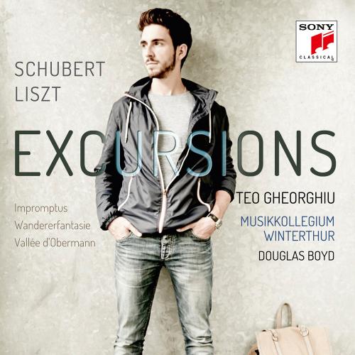 Teo Gheorghiu. Schubert & Liszt: Excursions. CD.