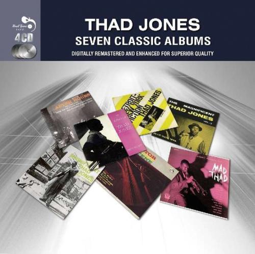 Thad Jones. 7 Classic Albums. 4 CDs.
