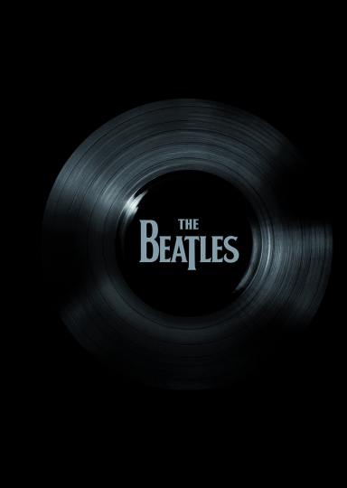 The Beatles No. 1 Singles Colored Edge Notizbuch.
