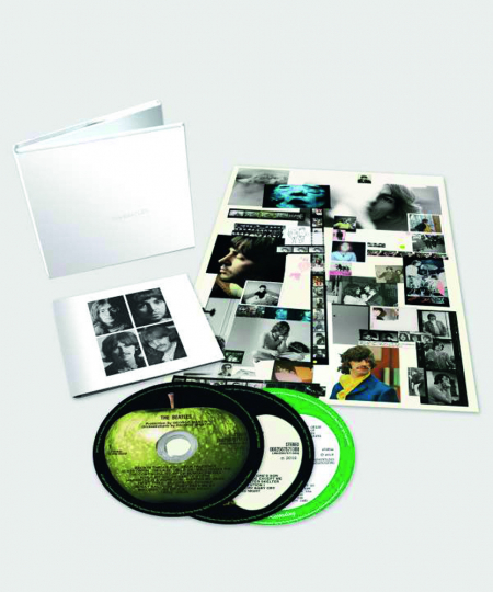 The Beatles. White Album. Limited-Deluxe-Edition. 3 CDs.