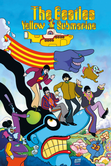 The Beatles. Yellow Submarine. Graphic Novel.