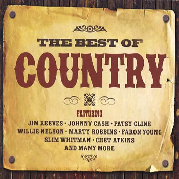 The Best of Country 3 CDs.