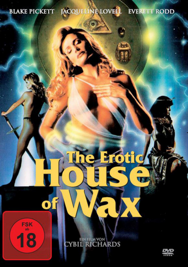 The erotic house of wax DVD