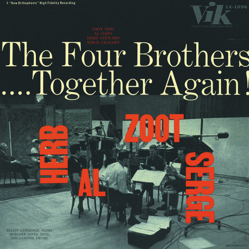 The Four Brothers. Together Again! Live 1957. CD.