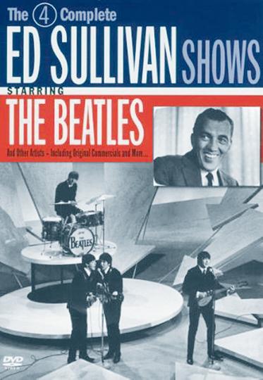 The Beatles - Die 4 Ed Sullivan Shows. 2 DVDs.