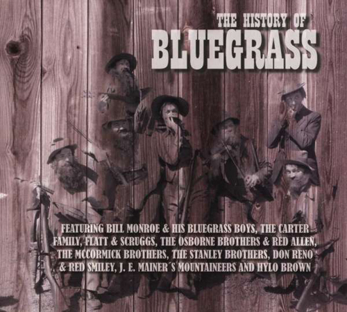 The History Of Bluegrass. CD.