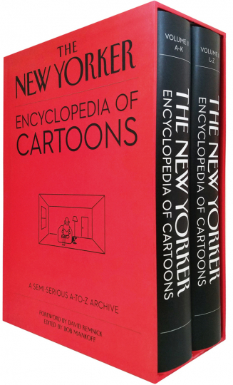 The New Yorker Encyclopedia of Cartoons. A Semi-serious A-to-Z Archive. 2 Bände im Schuber.