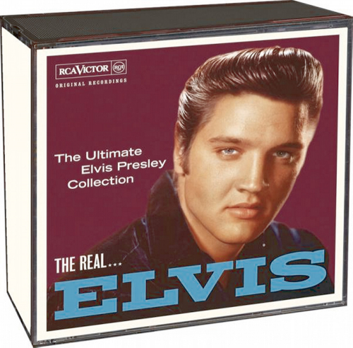 The Real Elvis 3 CDs