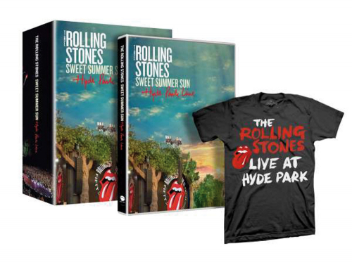 The Rolling Stones. Sweet Summer Sun. Hyde Park Live. Limited DVD und T-Shirt.