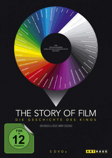 The Story Of Film. 5 DVDs