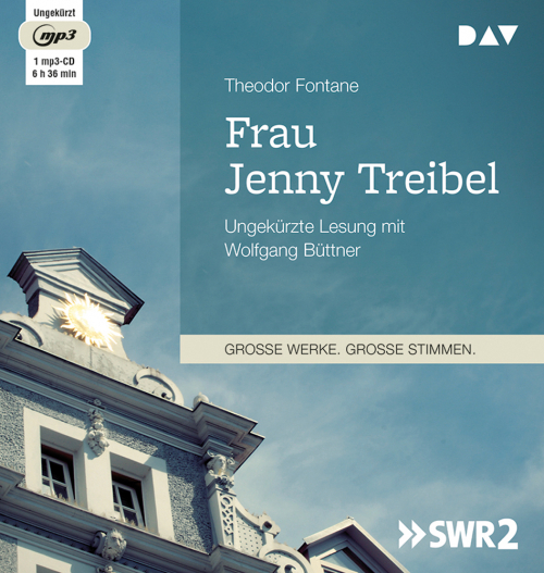 Theodor Fontane. Frau Jenny Treibel. mp3-CD.