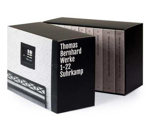 Thomas Bernhard. Werke. 22 Bände in Kassette.