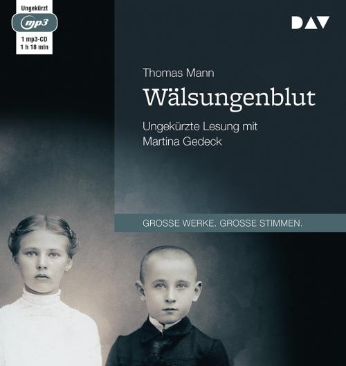 Thomas Mann Wälsungenblut. mp3-CD.