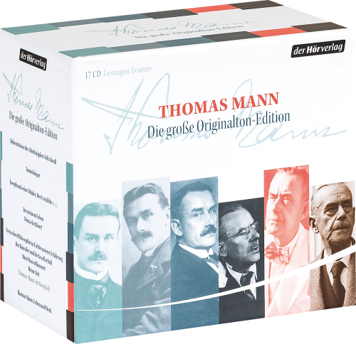 Thomas Mann. Die große Originalton-Edition. 17 CDs.