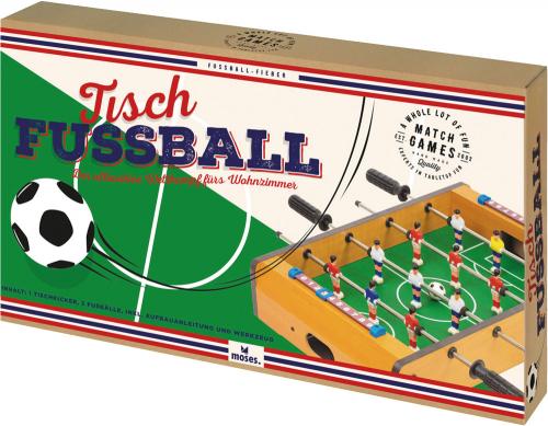 Tischkicker. Tisch-Fußball für Zuhause.
