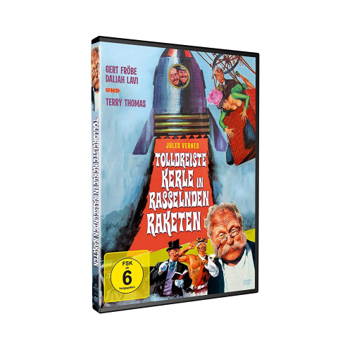 Tolldreiste Kerle in rasselnden Raketen. DVD.