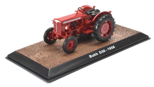 Traktor Bukh D30 - Modell 1:32.