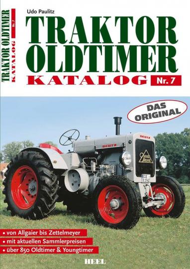 Traktor Oldtimer Katalog Nr. 7.