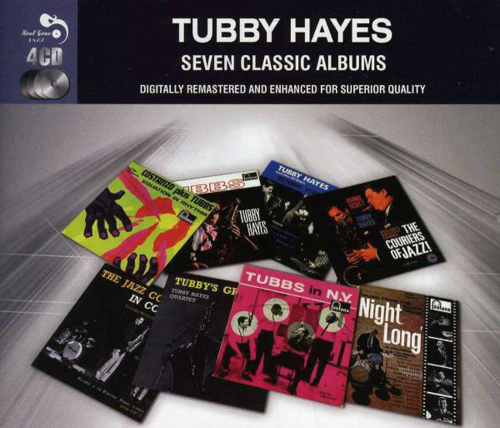 Tubby Hayes. Seven Classic Albums. 4 CDs.