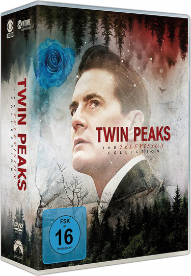 Twin Peaks. The Television Collection. Staffel 1-3. 16 DVD Box.