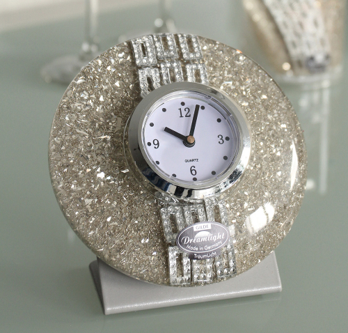 Gläserne Uhr »Nobilia«.