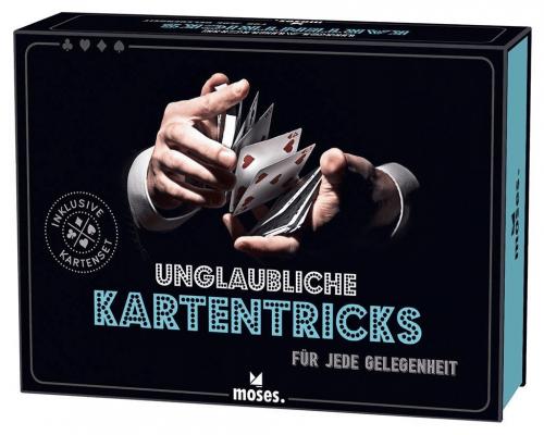 Unglaubliche Kartentricks - inklusive Kartenspiel