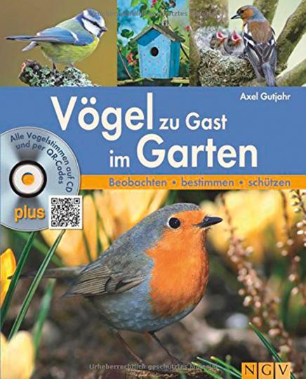 Vögel zu Gast im Garten. Beobachten, bestimmen, schützen. Mit CD.