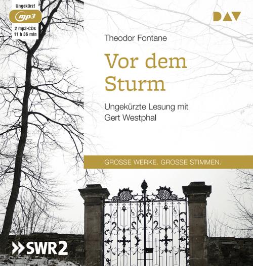 Von Theodor Fontane. Vor dem Sturm. 2 mp3-CDs.