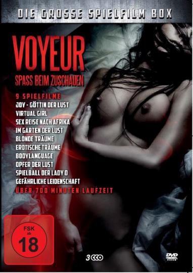 Voyeur - Spaß beim Zuschauen: Die große Spielfilm-Box 3 DVDs