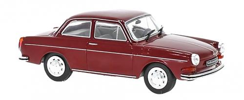 VW 1600L 1970, dunkelrot - Modell 1:43