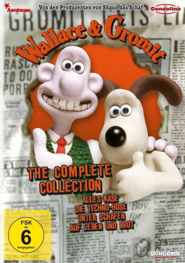 Wallace und Gromit: The Complete Collection. DVD.