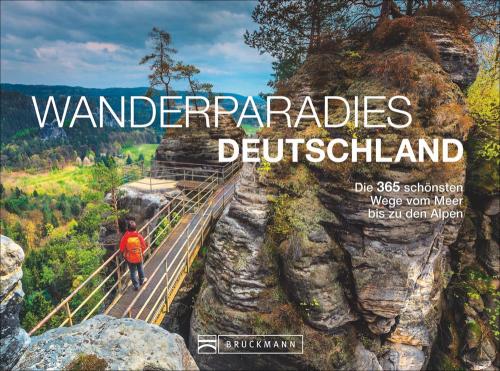 Wanderparadies Deutschland. Die 365 schönsten Wege vom Meer bis zu den Alpen. Tischaufsteller.