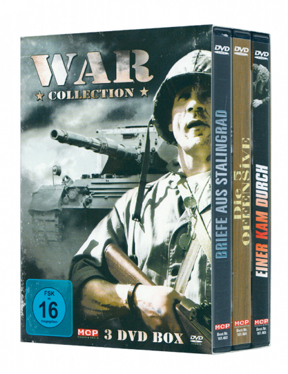 War Collection 3 DVDs