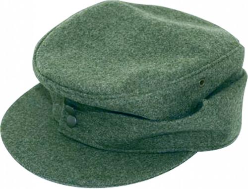 Wehrmacht-Feldmütze M 43 - Mannschaftsausführung: Heer - Größe 57