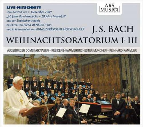 Weihnachtsoratorium I - III CD