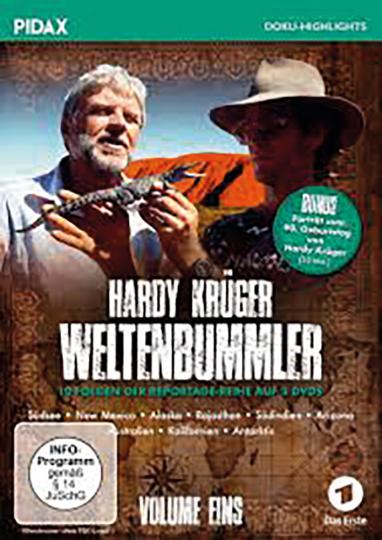 Hardy Krüger - Weltenbummler Vol.1. 3 DVDs