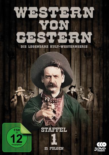 Western von Gestern. Staffel 1. 3 DVDs.