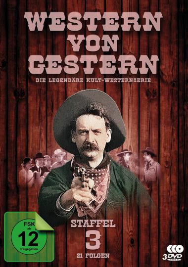 Western von Gestern. Staffel 3. 3 DVDs.