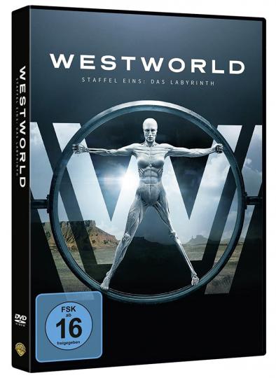 Westworld Staffel 1: Das Labyrinth. 3 DVDs.